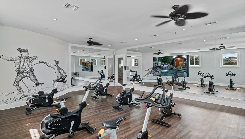 Spin studio at Town Lantana in Lantana, Florida
