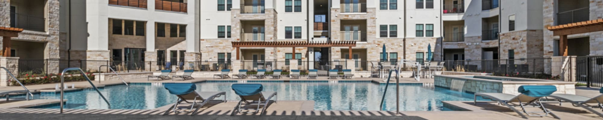 Amenities at McCarty Commons in San Marcos, Texas