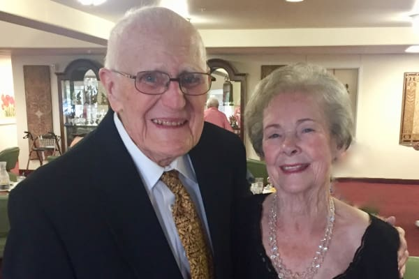 Sally and Ken Johns at Paloma Landing Retirement Community in Albuquerque, New Mexico