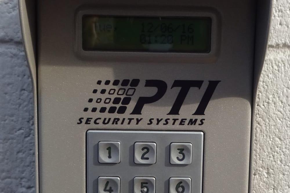 Security Keypad at Storage Etc... Rosemead