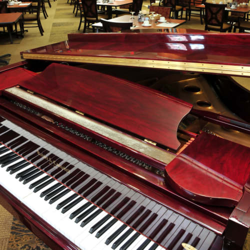 Piano at The Crossings at Ironbridge in Chester, Virginia