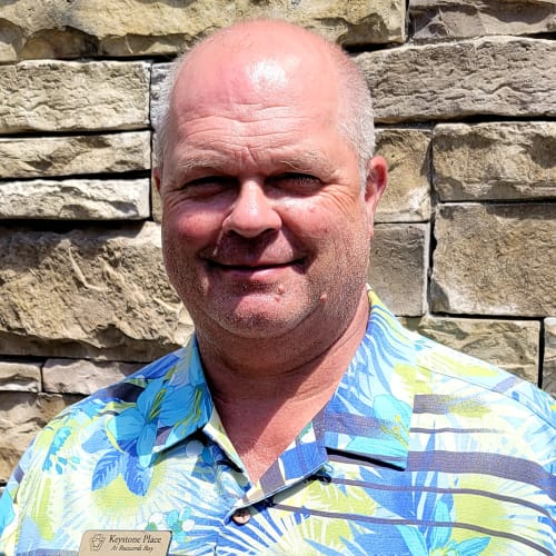 Scott Griffith,  Director of Facilities of Keystone Place at  Buzzards Bay in Buzzards Bay, Massachusetts
