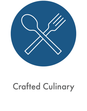 Learn about our crafted culinary experience at Deephaven Woods in Deephaven, Minnesota