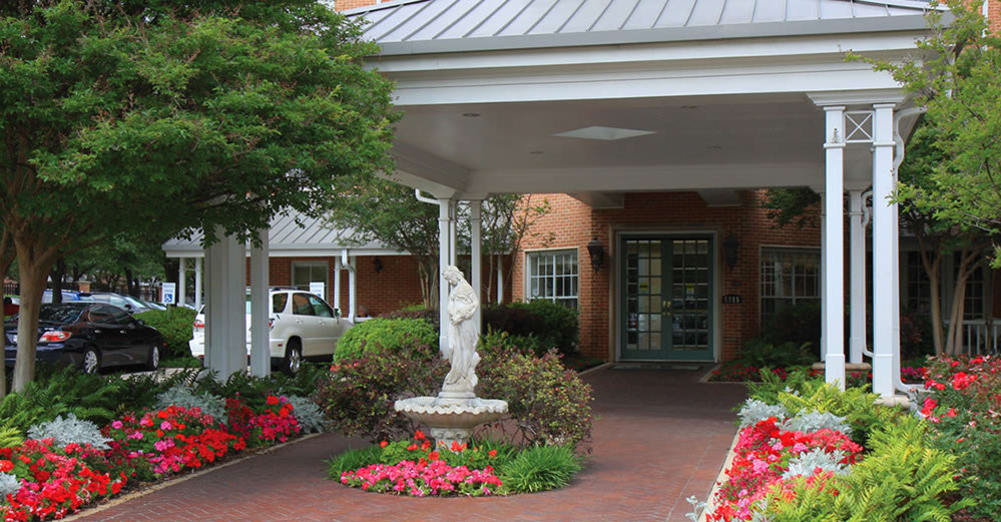 Senior living options at the senior living community in Dallas