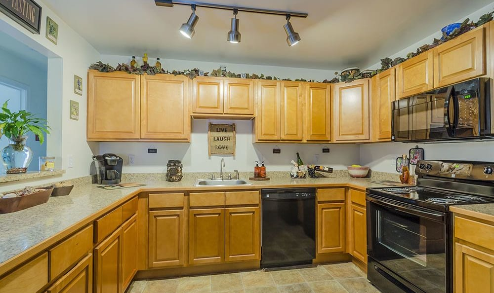 Spacious kitchen in our Dover, Delaware apartments at Village of Westover