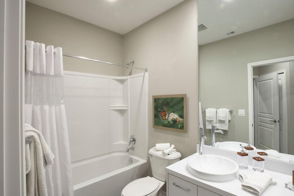 Model bathroom at Five Points in Auburn Hills, Michigan