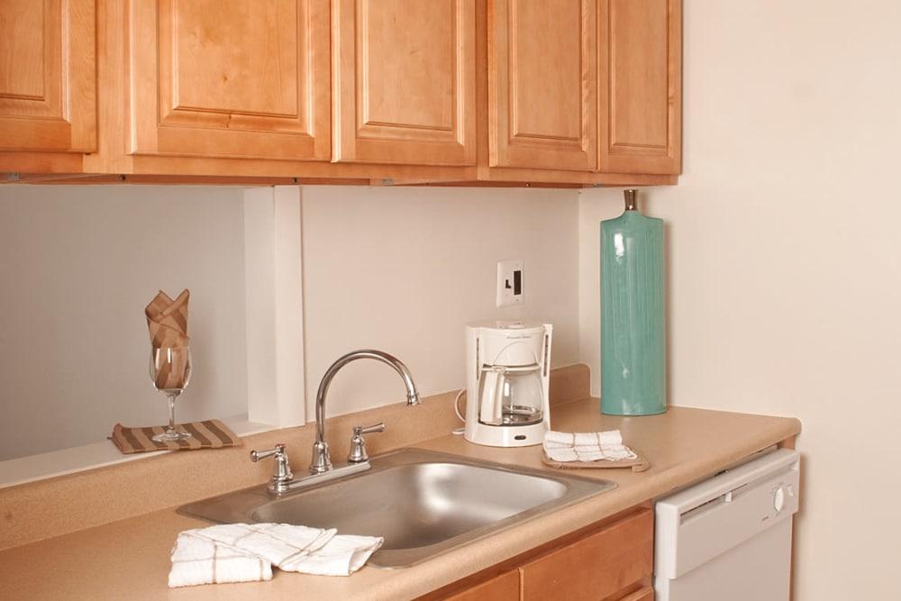 Bright kitchen at Pine Ridge in Lindenwold, New Jersey