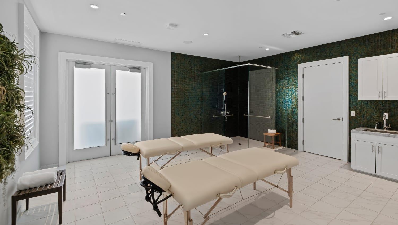 Private spa at Town Lantana in Lantana, Florida