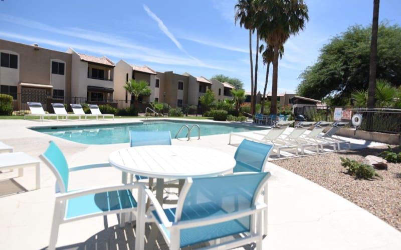 Swimming pool at The Agave in Tucson, Arizona