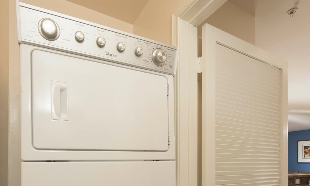 Washer/Dryer at Park Villas Apartments in Lexington Park, Maryland