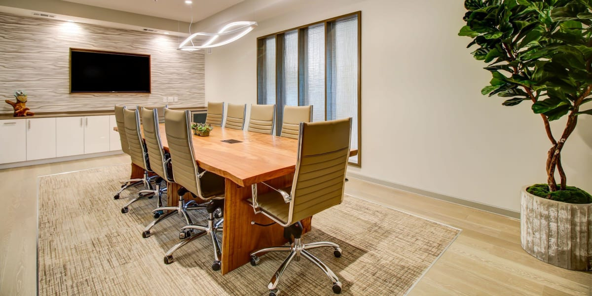 Conference room at Westerly 360 in Austin, Texas