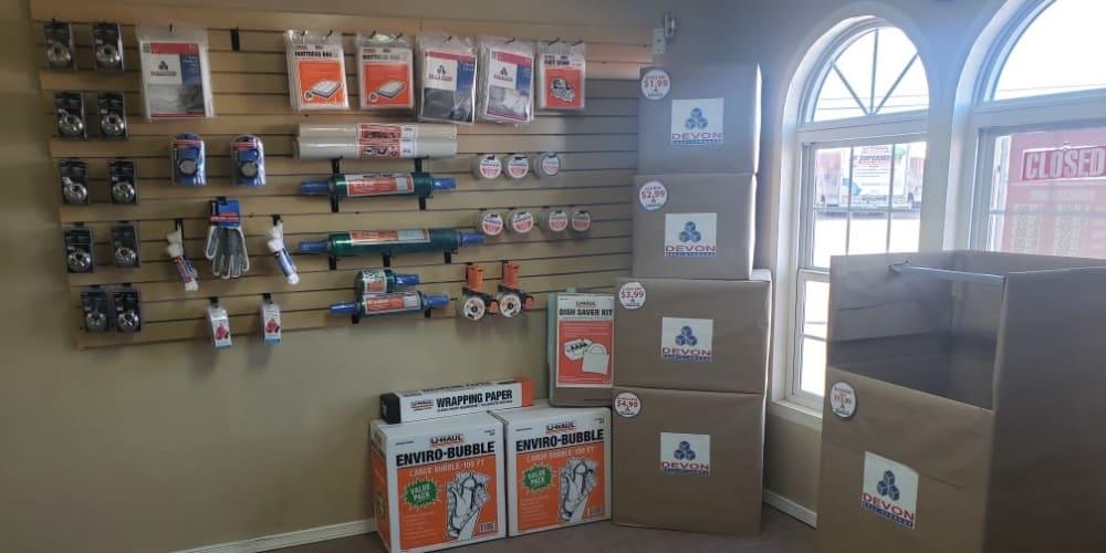 Packing & Moving supplies sold at El Paso, Texas at Armadillo Self Storage