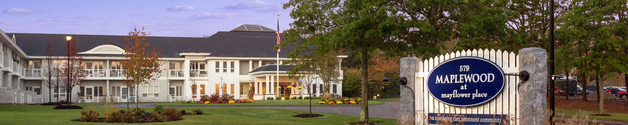 Friendship suites at Maplewood at Mayflower Place in West Yarmouth, Massachusetts