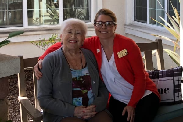Diana Speilman at Palms at Bonaventure Assisted Living in Ventura, California