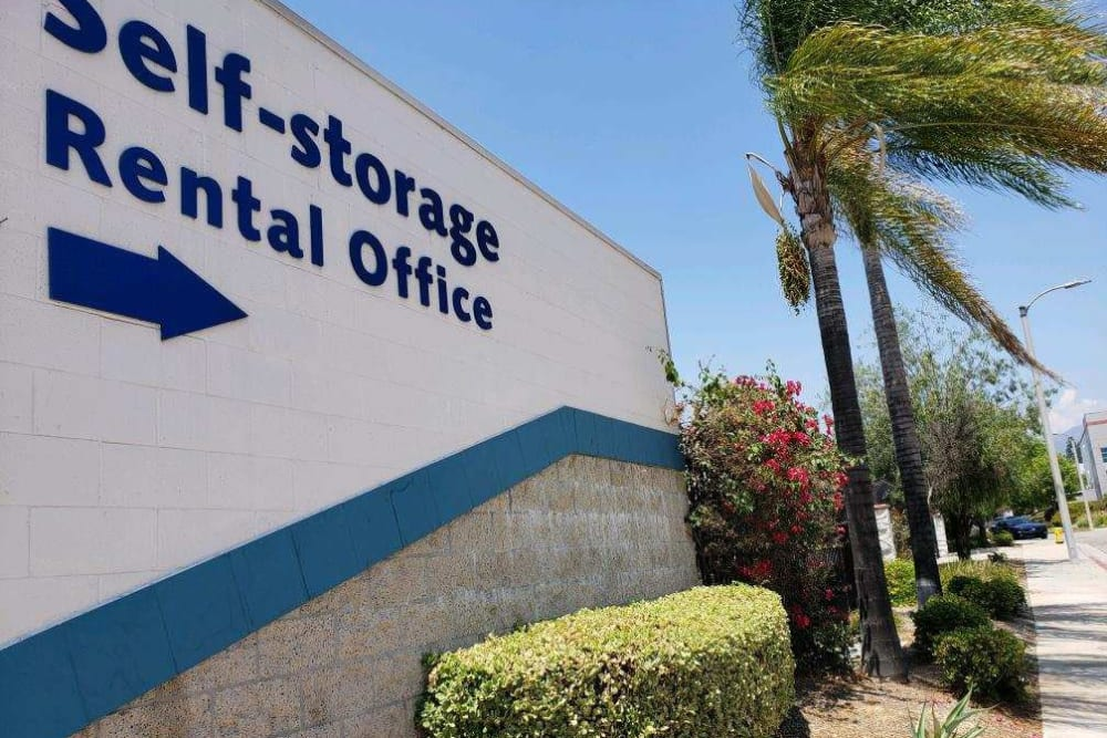 Rental Office at Storage Etc... Pomona