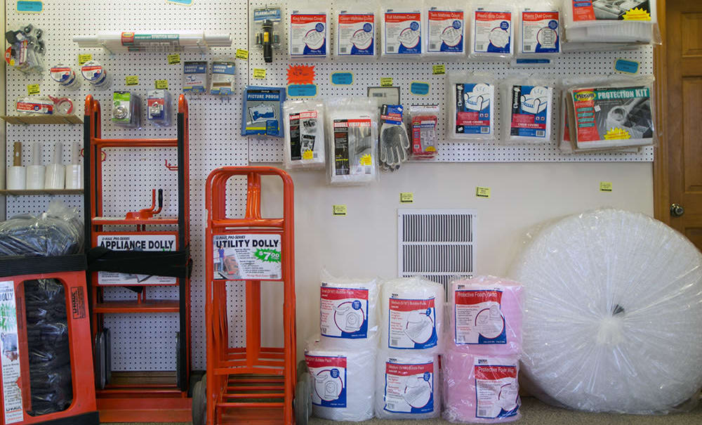 We sell packing supplies at Capital Self Storage in York, Pennsylvania