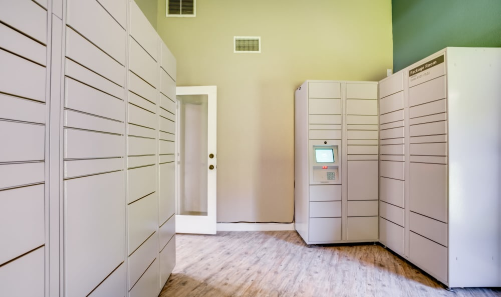 Package Room at Serramonte Ridge Apartment Homes