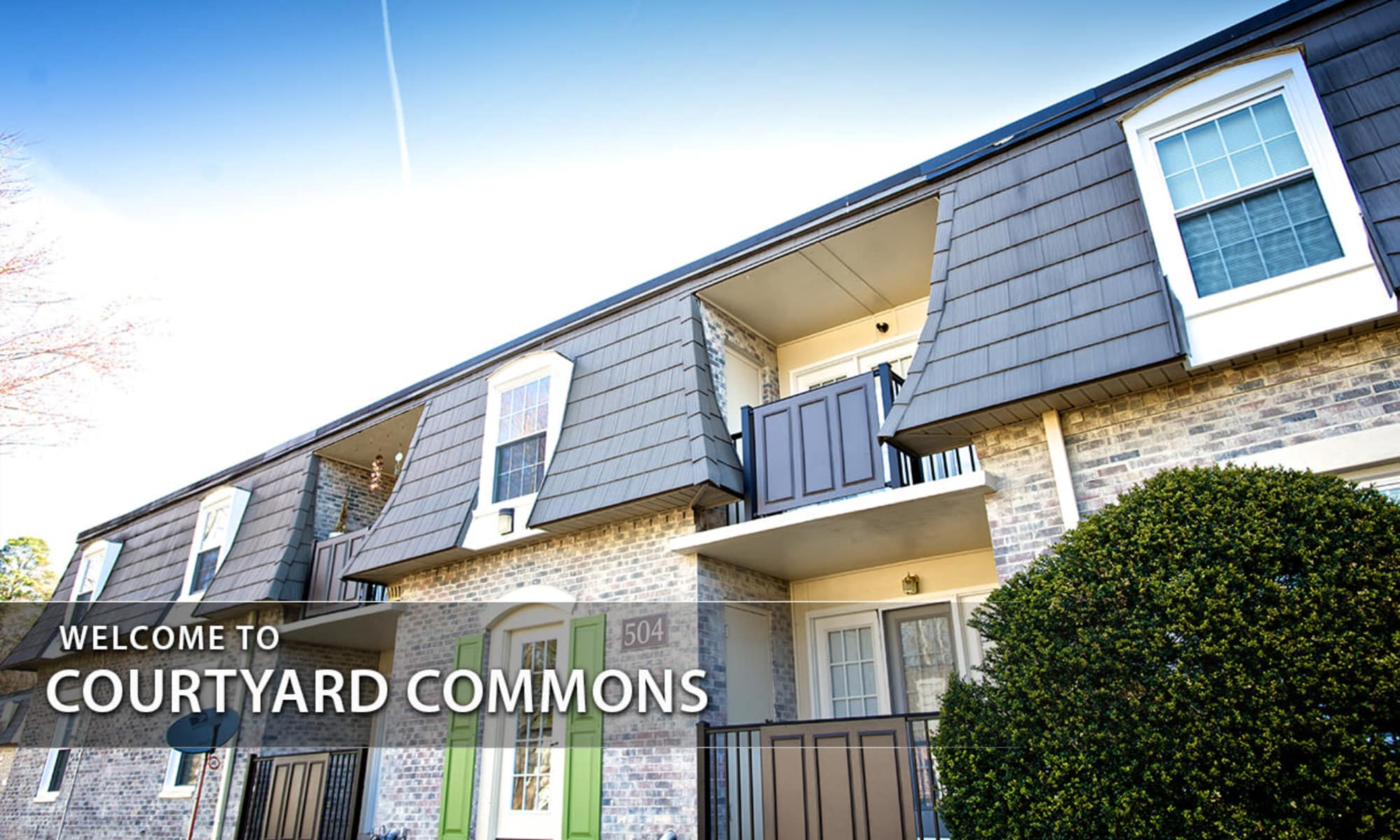Apartments in Jamestown, NC Courtyard Commons