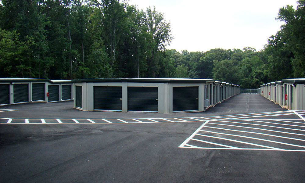 An exterior view of our self storage facility