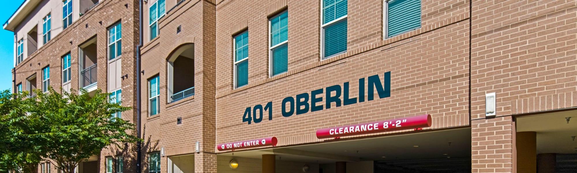 Photos at 401 Oberlin in Raleigh, North Carolina