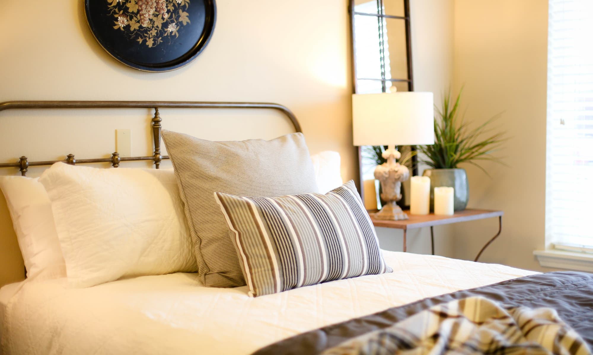 Bedroom at The Park at Modesto Independent Living Community, in Modesto, California