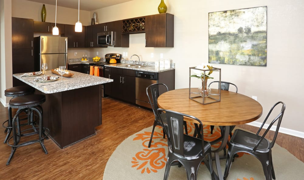 kitchen at Springs at Hurstbourne in Louisville, KY