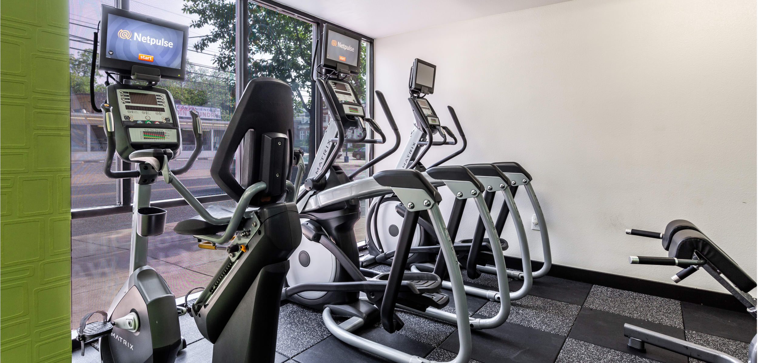 Regents West at 24th's fitness center in Austin, Texas