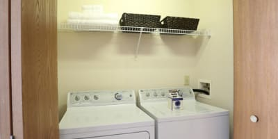 Washer & dryer at apartments in Westerville, Ohio