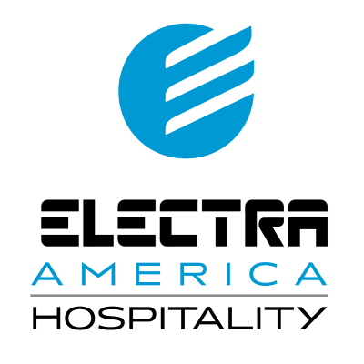 The Electra America Hospitality Group logo at Electra America in Lake Park, Florida