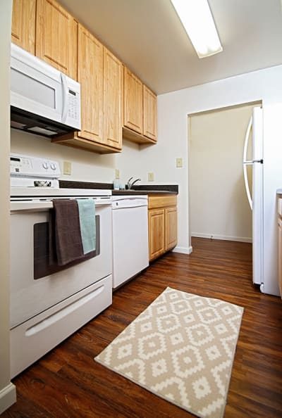 New appliances at apartments in Harrisburg, PA