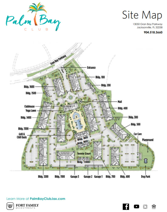 View our floor plans at Palm Bay Club