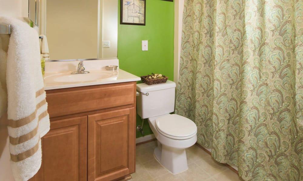 Park Villas Apartments offers a Bathroom in Lexington Park, Maryland