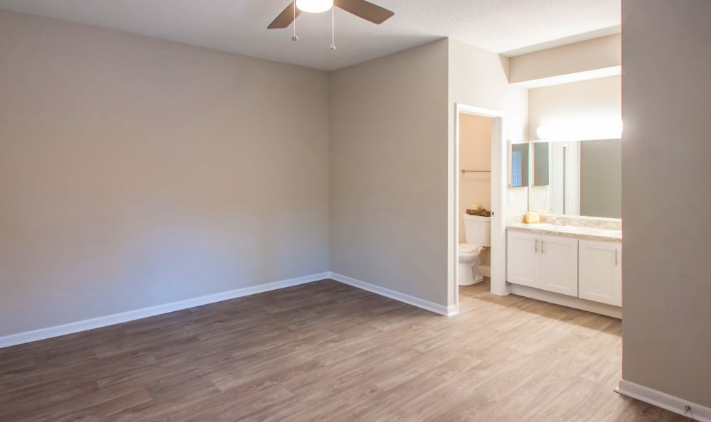 Spacious bedroom at IMT Pinebrook Pointe in Margate