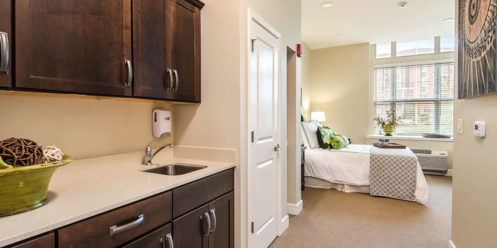 Private Suite at Stonecrest at Burlington Creek in Kansas City, Missouri