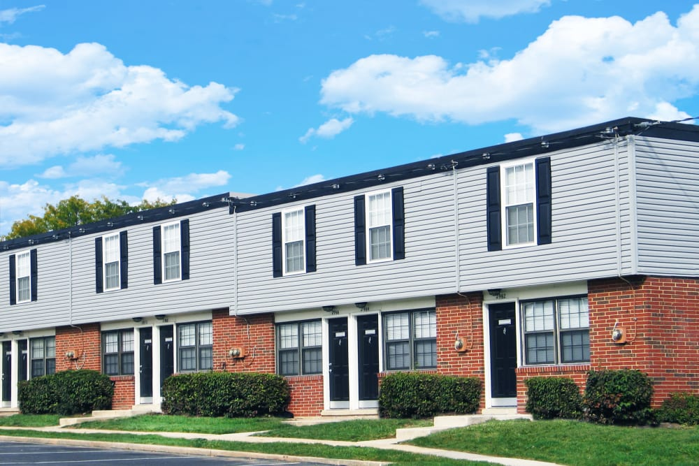 Clean apartments at Riverview Townhomes
