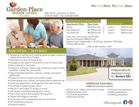 Lifetime Promises at Garden Place Columbia
