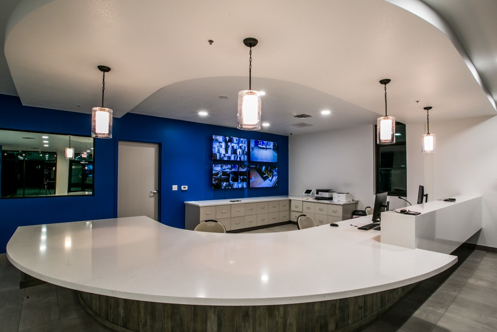 Office area of Golden State Storage - Blue Diamond in Las Vegas, Nevada
