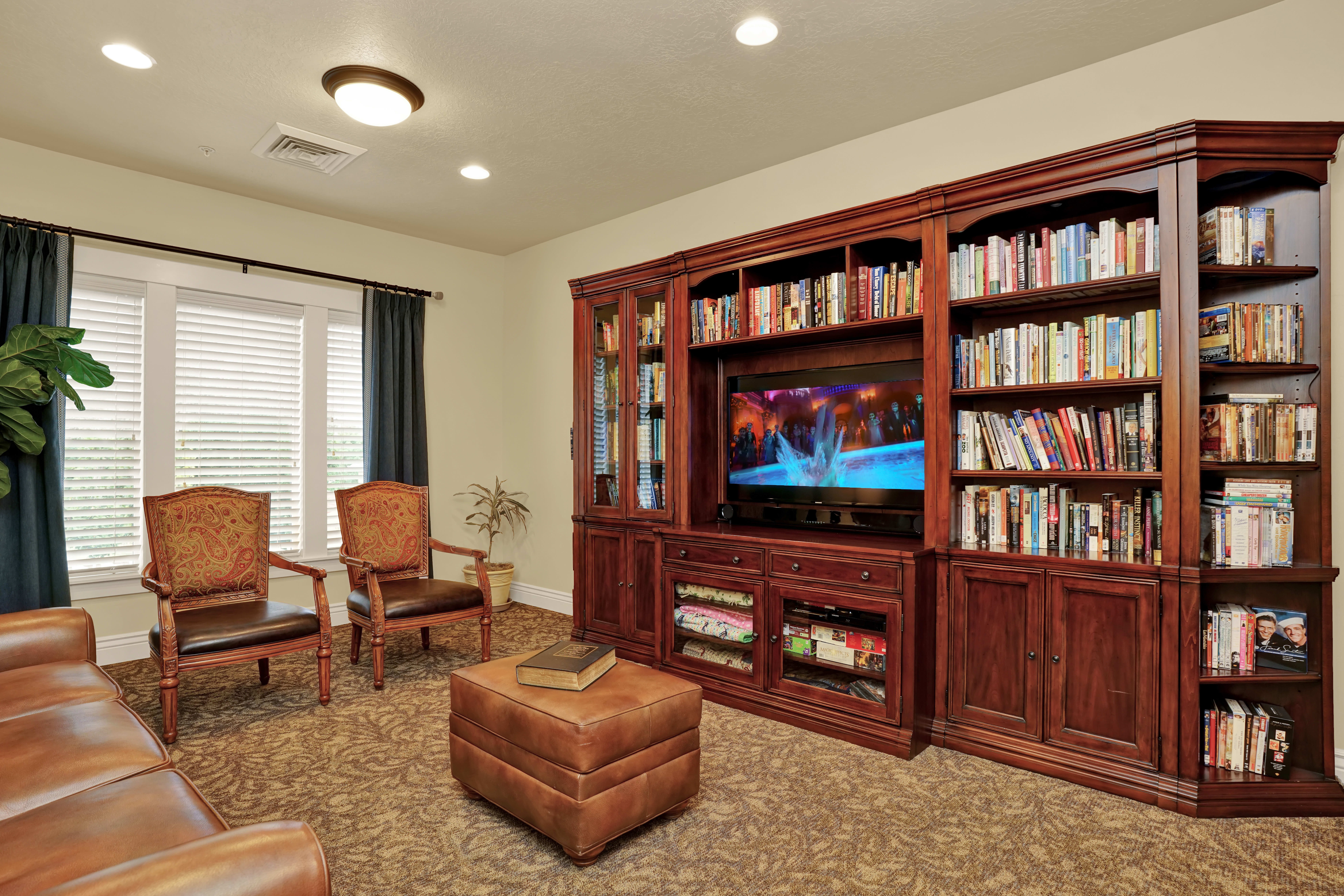 Assisted living at the senior living in Highland