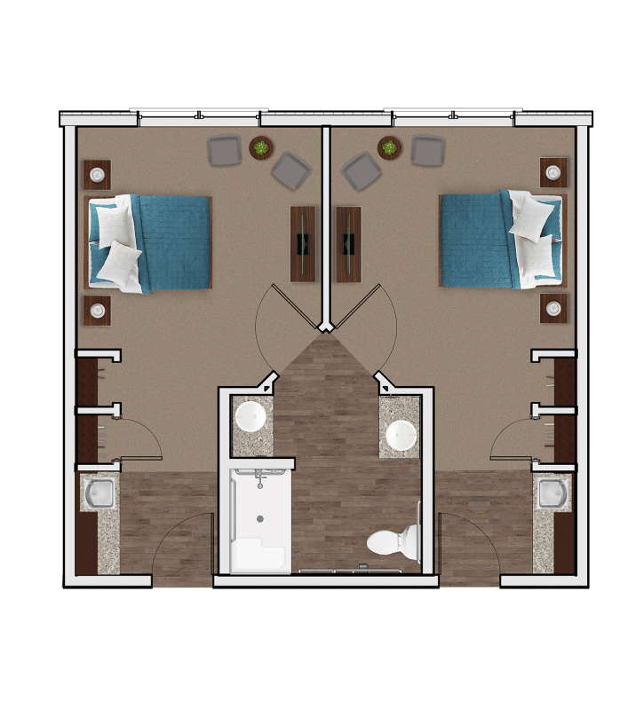 Memory Care Companion Suite at Stonecrest of Anderson Township