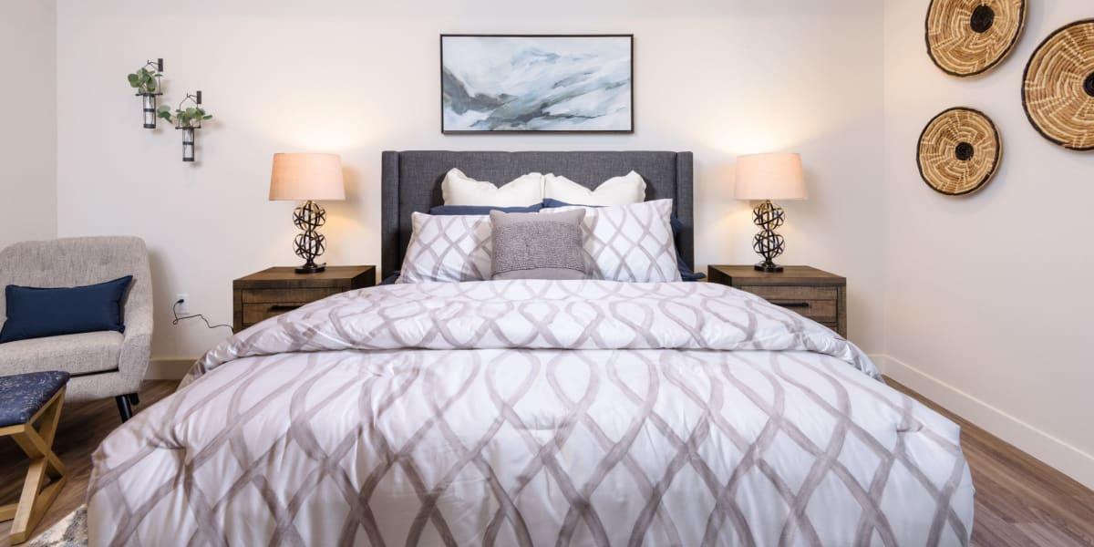 Guest bedroom at Portside Ventura Harbor in Ventura, California