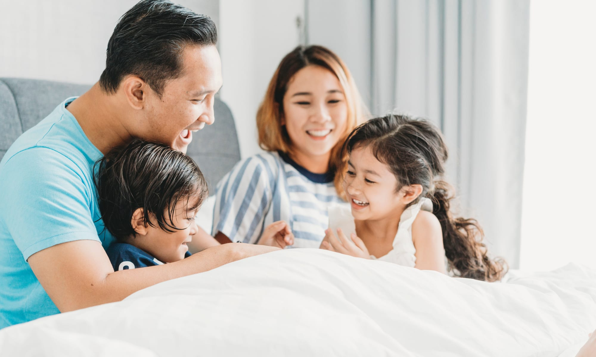 Family at Liberty SKY in Salt Lake City, Utah