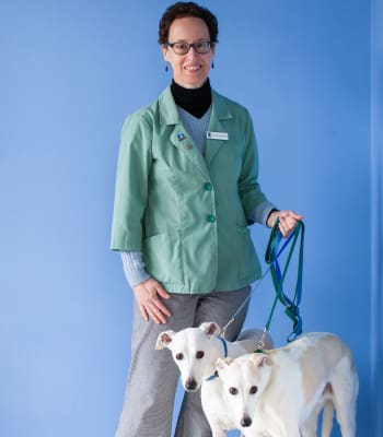 Dr. Suzanne Alton at North Paw Animal Hospital in Durham, North Carolina