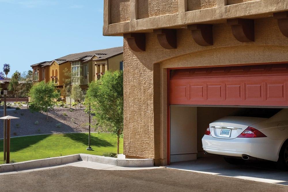 Garage at Ravenwood Heights in Tempe, Arizona