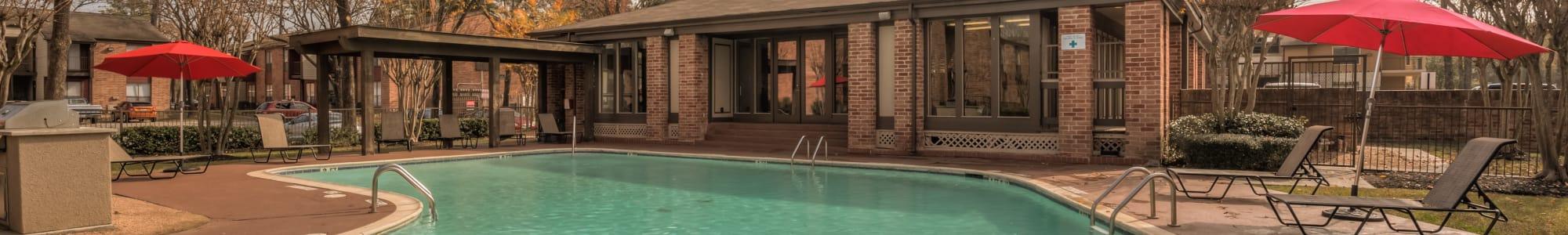 Rock Creek swimming pool in Houston