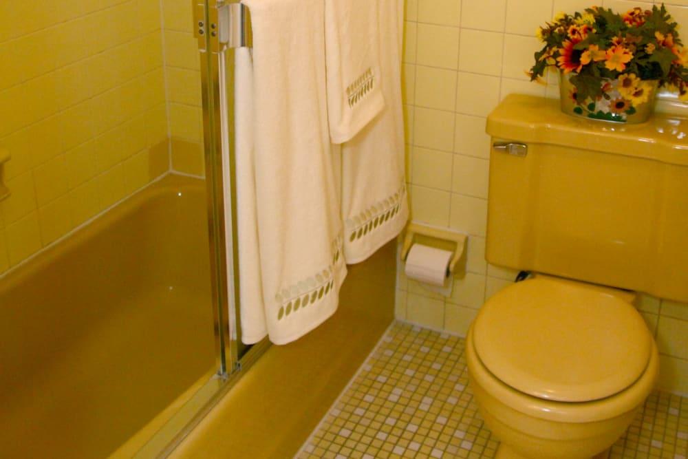 Beautiful bathroom with tub at Timber Ridge