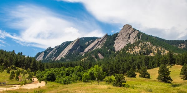 View of a hills in Colorado