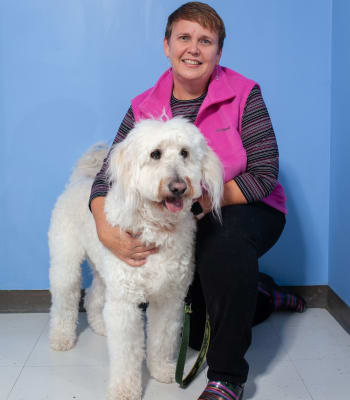 Dr. Cindy Muse at North Paw Animal Hospital in Durham, North Carolina