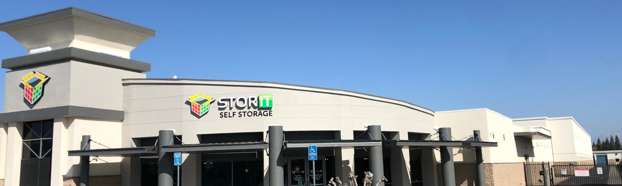 Office suites at Stor It Self Storage & Business Center in Clovis