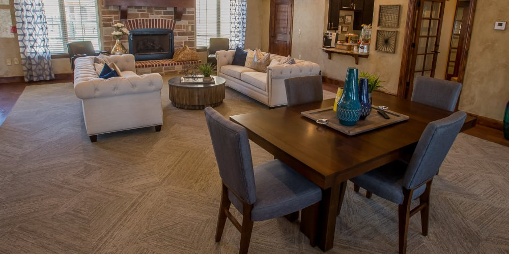 Luxury clubhouse at Tuscany Ranch in Waco, Texas