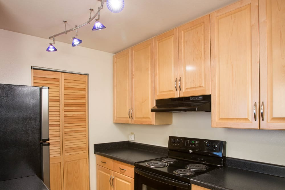 Updated Cabinets at Greens at Schumaker Pond in Salisbury, MD